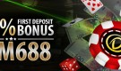 Casino First Deposit Bonus – Get a 100% up to RM688 welcome bonus!