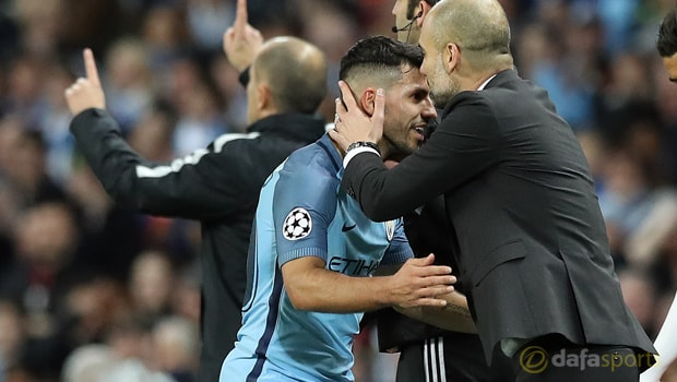Manchester City striker Sergio Aguero looking to stay put
