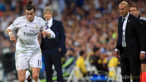 Real Madrid manager Zinedine Zidane hails special Bale