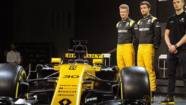F1: Renault driver Jolyon Palmer feeling optimistic