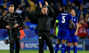 Shakespeare talks up Leicester's chances