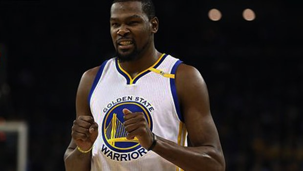 NBA: Golden State sweat over Kevin Durant fitness