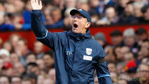 Tony Pulis worried by Watford clash