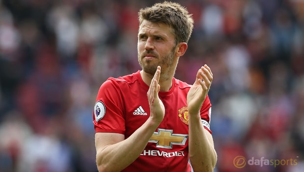 Michael Carrick happy with Man United extension