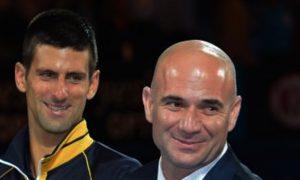 Novak-Djokovic-and-Andre-Agassi-Tennis