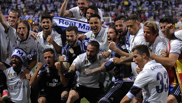 Zinedine Zidane hails Real Madrid players