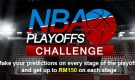 NBA PLAYOFFS CHALLENGE – Make your predictions and get up to RM150