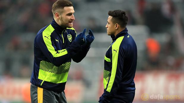 Shkodran Mustafi hopeful over Alexis Sanchez stay