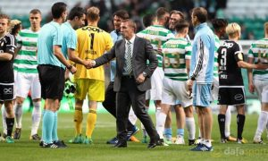 Celtic boss Brendan Rodgers satisfied with Parkhead stalemate