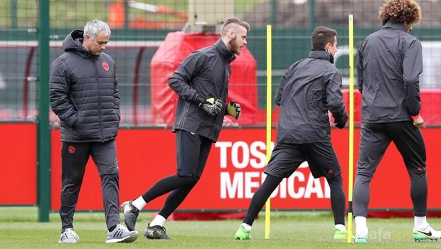 Man United boss Jose Mourinho plays down David De Gea exit