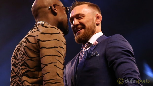 Conor McGregor unconcerned by Floyd Mayweather punches