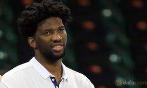 NBA: Philadelphia 76ers hope for Joel Embiid boost