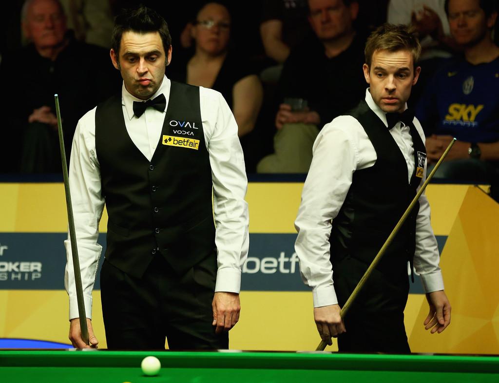 Alister+Carter+Betfair+World+Snooker