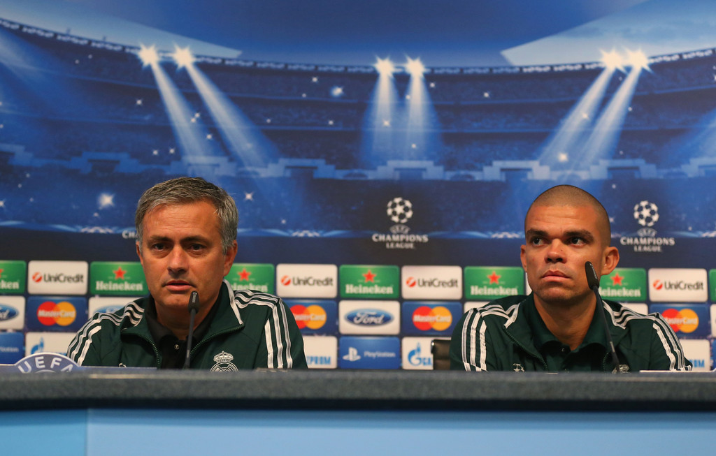 Jose+Mourinho+Pepe+Real+Madrid+Press+Conference+xuFUWQ4QUIdx