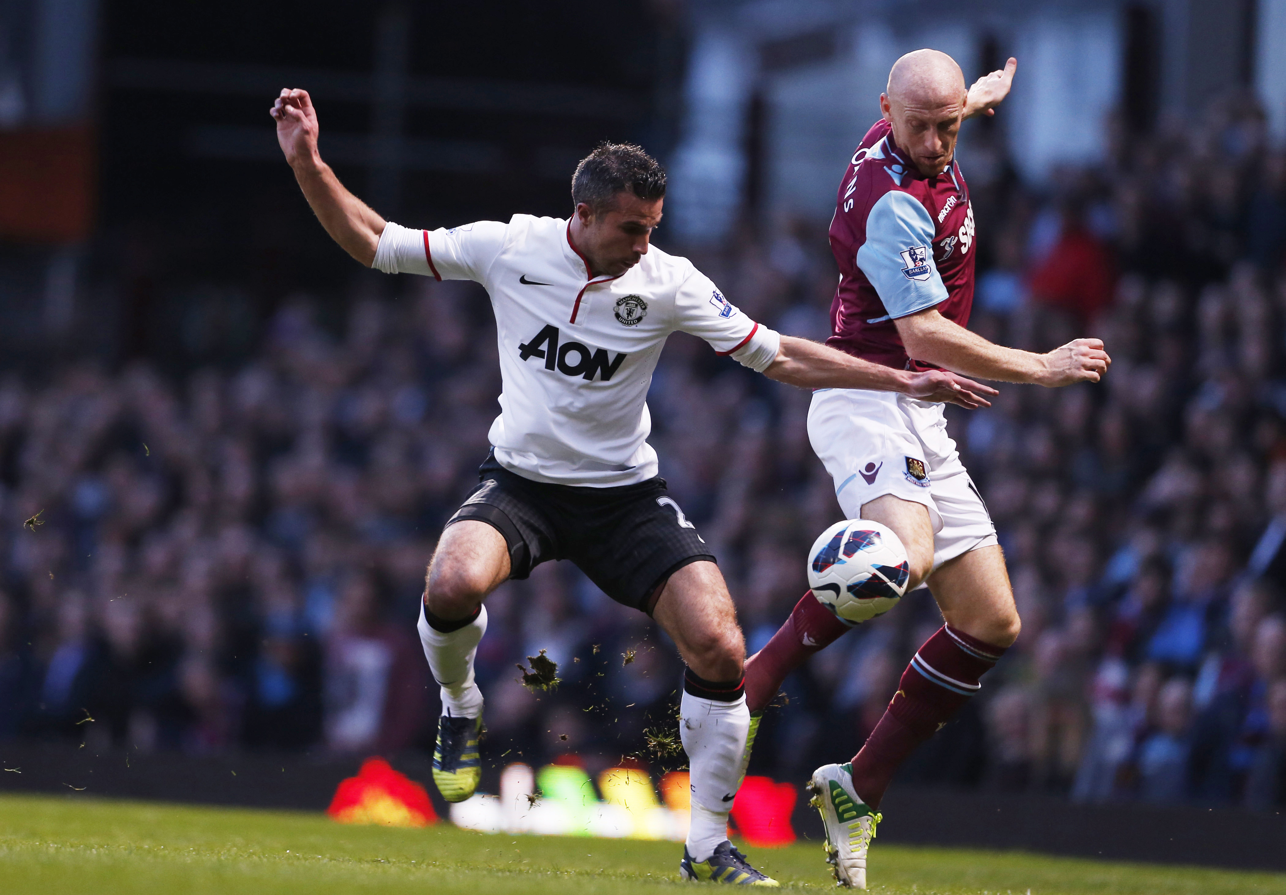 West Ham United v Manchester United - Barclays Premier League