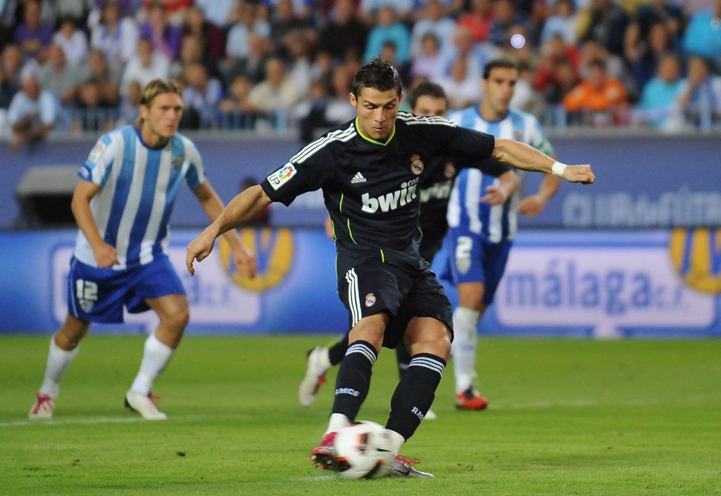 Cristiano+Ronaldo+Malaga+v+Real+Madrid