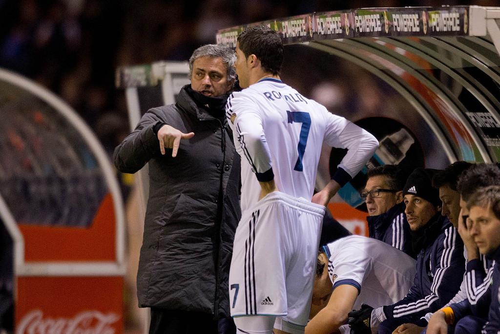 Jose+Mourinho+Cristiano+Ronaldo