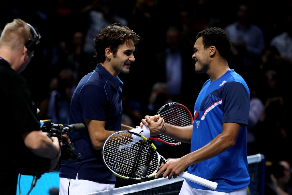 Roger+Federer+Jo+Wilfried+Tsonga