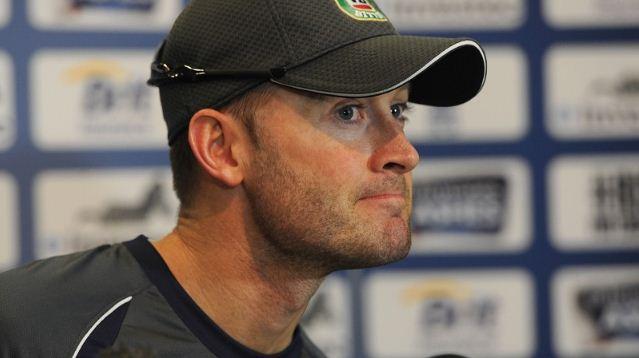 Australia captain Michael Clarke coach Darren Lehmann cricket