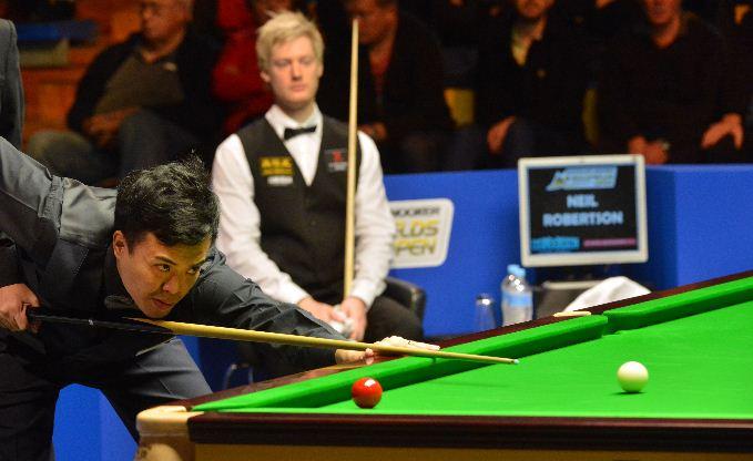 Australian Goldfields Open Marco Fu defeat Neil Robertson