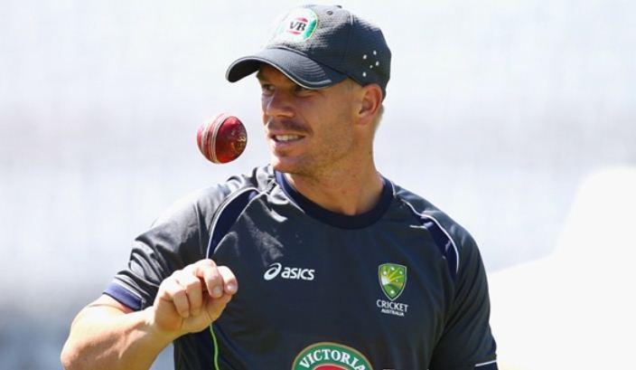 Australian batsman David Warner cricket
