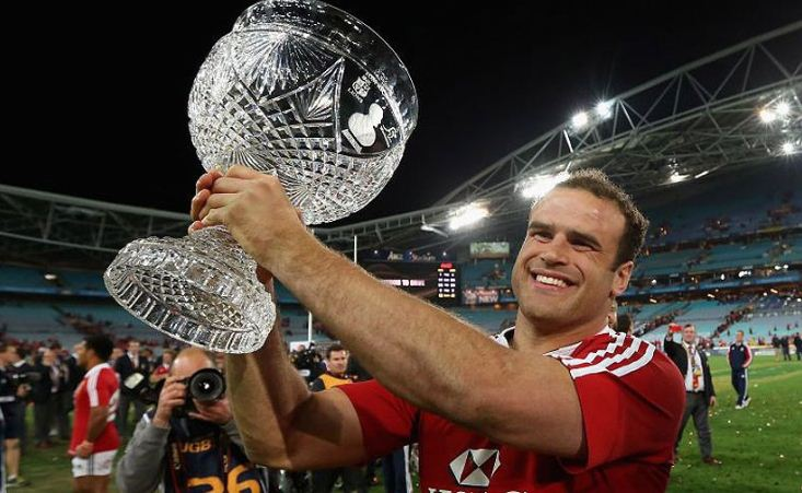 British and Irish Lions Jamie Roberts