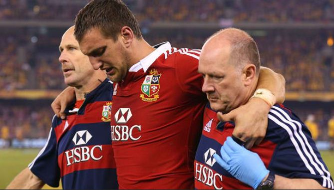 Cardiff Blues says Sam Warburton British and Irish Lions tour