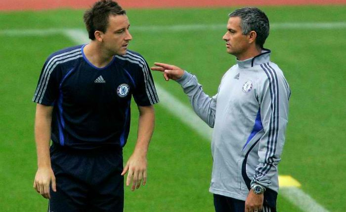 Chelsea boss Jose Mourinho John Terry