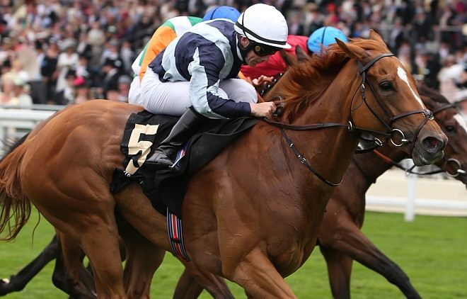 Duntle horse racing Falmouth Stakes