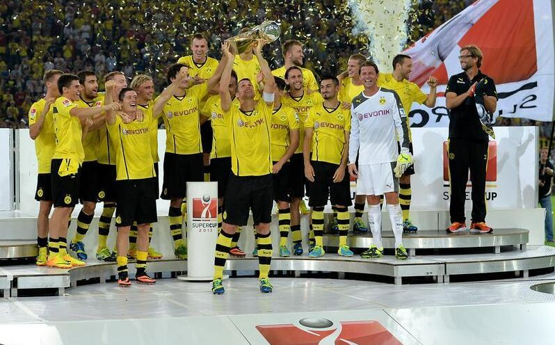 German Supercup won Borussia Dortmund