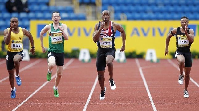 James Dasaolu fastest British Championships semi-finals