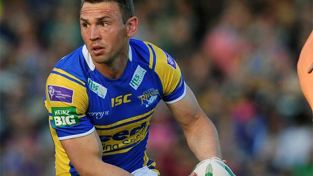 Leeds Rhinos Kevin Sinfield  former coach Graham Murray