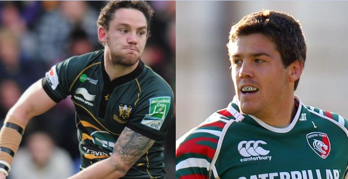 Leicester Tigers centre Anthony Allen Ryan Lamb