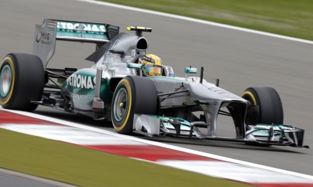 Lewis hamilton Mercedes german gp