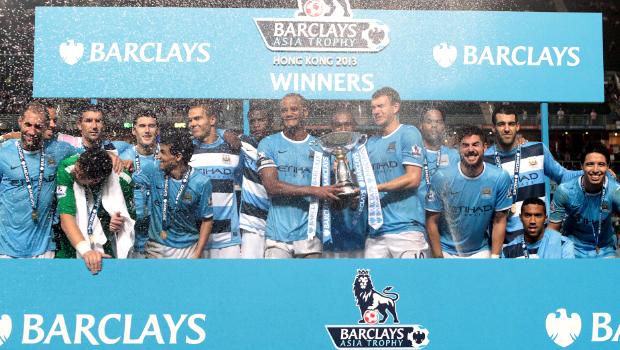 Manchester City Barclays Asia Trophy Hong Kong