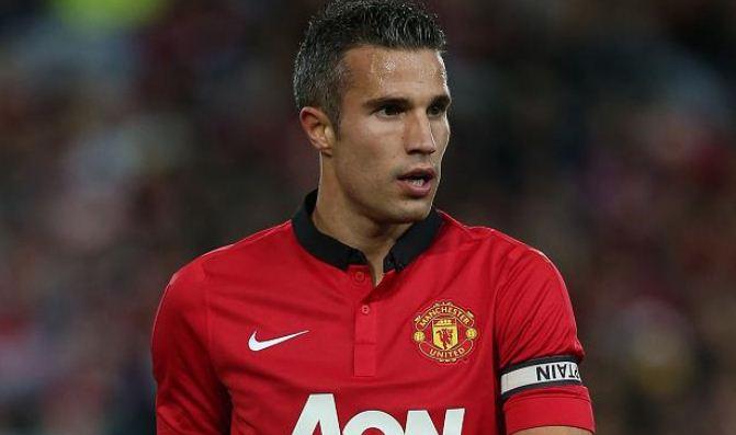 Manchester United Robin van Persie