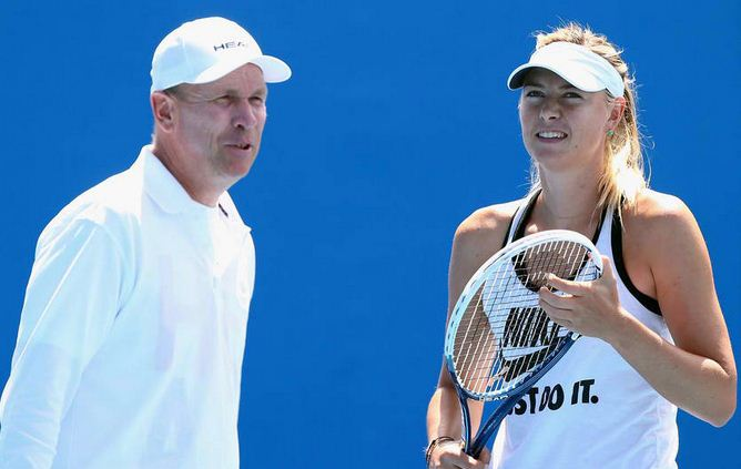 Maria Sharapova and Thomas Hogstedt split ways