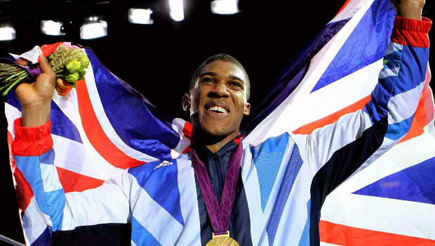 Olympic gold medallist Anthony Joshua
