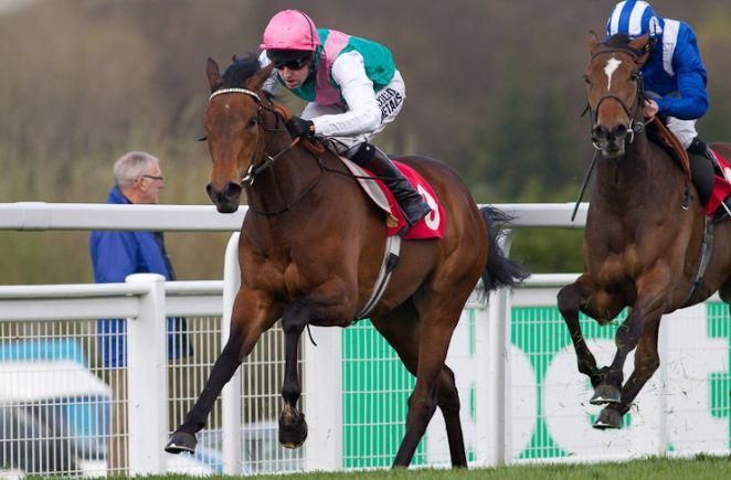 Riposte and Venus De Milo run Darley Irish Oaks horse racing