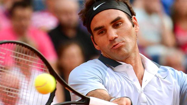 Roger Federer US Open back injury