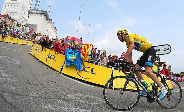 Team Sky Chris Froome stage 15 Tour De France