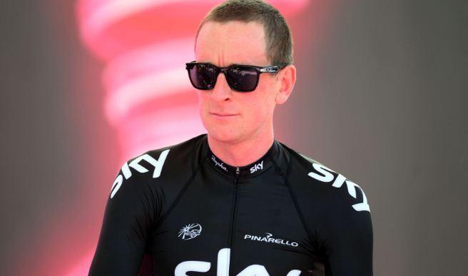 Team Sky rider Sir Bradley Wiggins Tour De France hurt