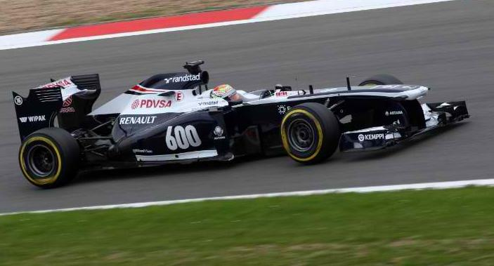 Williams Pirelli tyres Hungarian Grand Prix