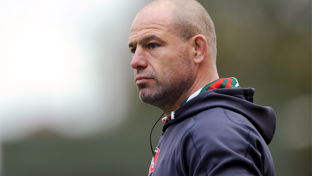director of rugby Richard Cockeril Leicester Tigers