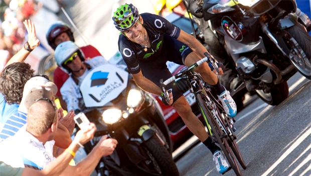 Alejandro Valverde cycling