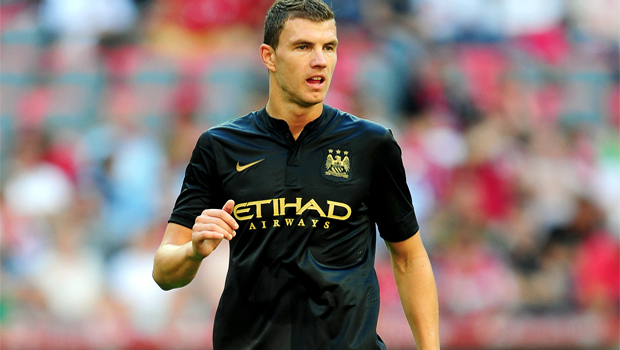 Arsenal set their sights Manchester City striker Edin Dzeko