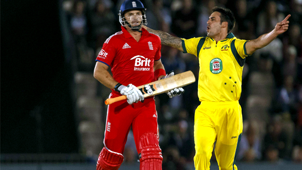 Australia fast bowler Mitchell Johnson