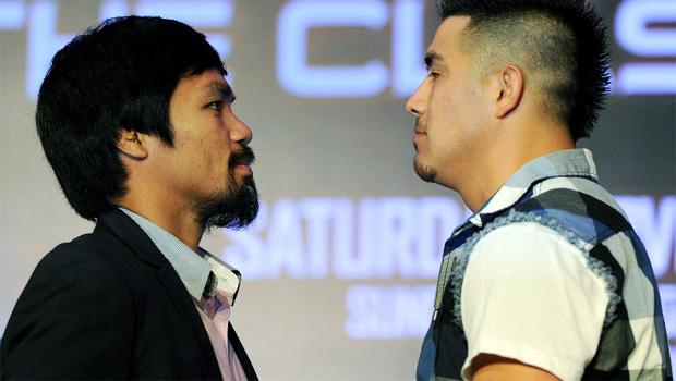 Brandon Rios v Manny Pacquiao