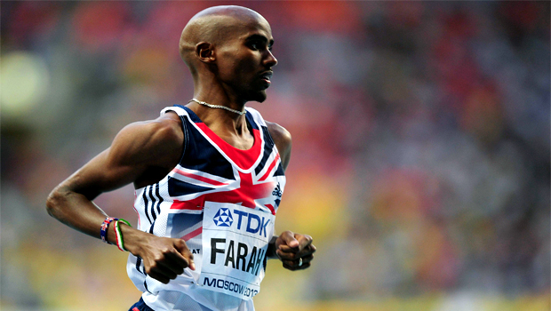Britain Mo Farah athletics