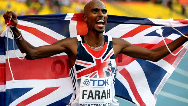 British Athletics Mo Farah World Championships